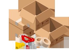 Muutot Helsinki, Vantaa - Muuttoaimo pakkaustarvikkeet
